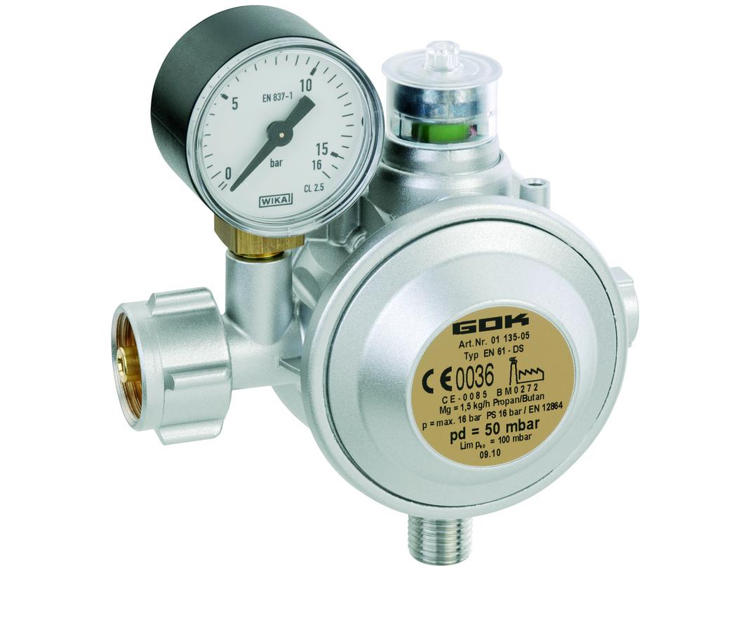 01211 01 Регулятор давления газа 10кг/час 0,02-0,5бар PS16бар bds.IG G1/2 ПСК