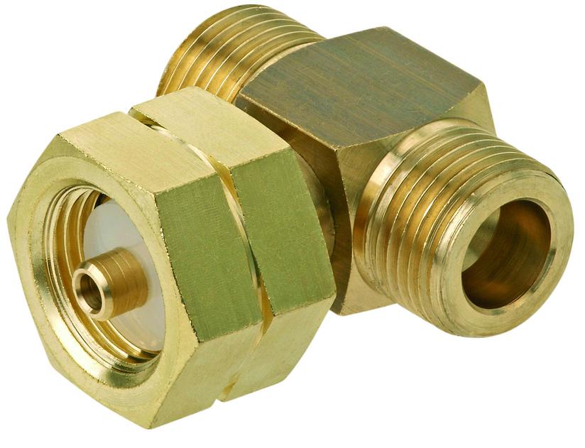 Соединитель-тройник для газобаллонной установки AG GF x Komb.A x AG GF