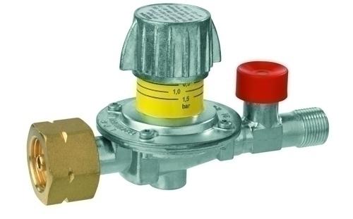 Регулятор давления газа GOK 12кг/час 0,5-4бар PS16бар Komb.AxG3/8LH-KN SBS шкала