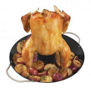 Вок с насадкой для запекания курицы